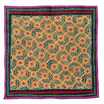 Amazon Shipibo Embroidery Cloth Guiding The Way