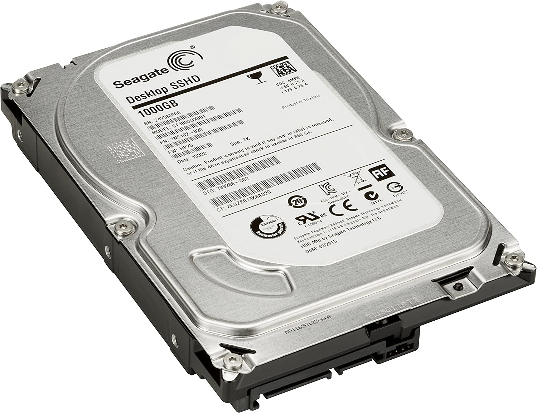 HP Unidad SSHD de 1 TB 7200 RPM SATA de 8GB - Disco Duro (3.5 ...
