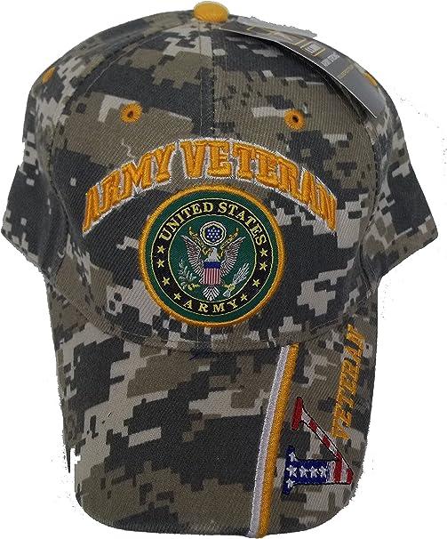CAMO CAMOUFLAGE NAVY VETERAN MILITARY BASEBALL CAP HAT FREE SHIPPING USA