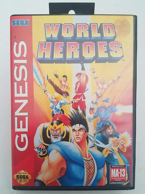 World Heroes - Sega Genesis (Renewed)