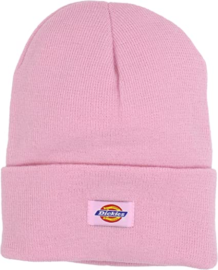 various design latest design where to buy Dickies Men's 14 Inch Cuffed Knit Beanie Hat, Pink, One Size at ...
