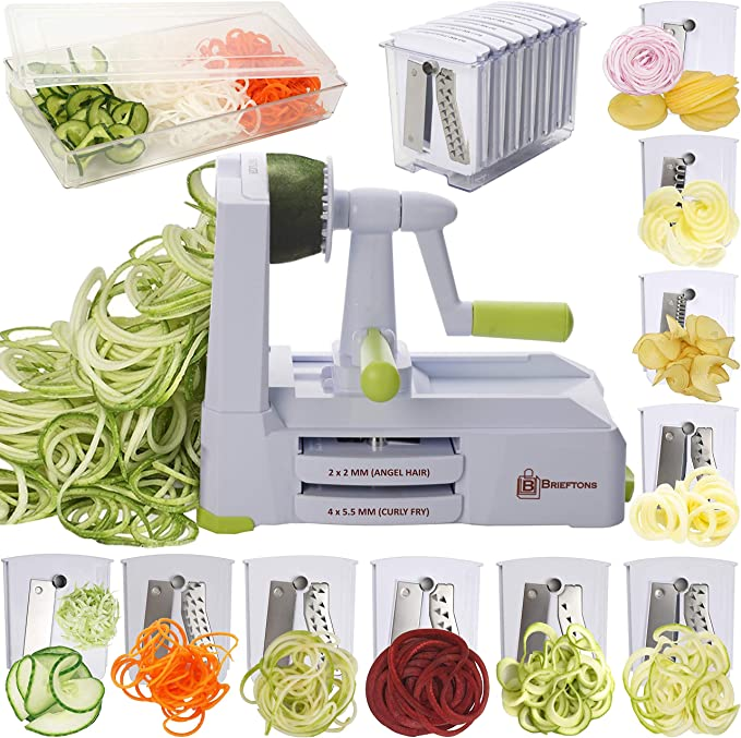 Cook/'s Essentials Spiral Slicer White With Stainless Blades 41717 No box  ✞