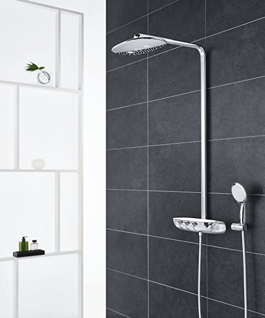 GROHE 26250000 Rainshower SmartControl 360 DUO Shower System With  Thermostat: Amazon.co.uk: DIY U0026 Tools