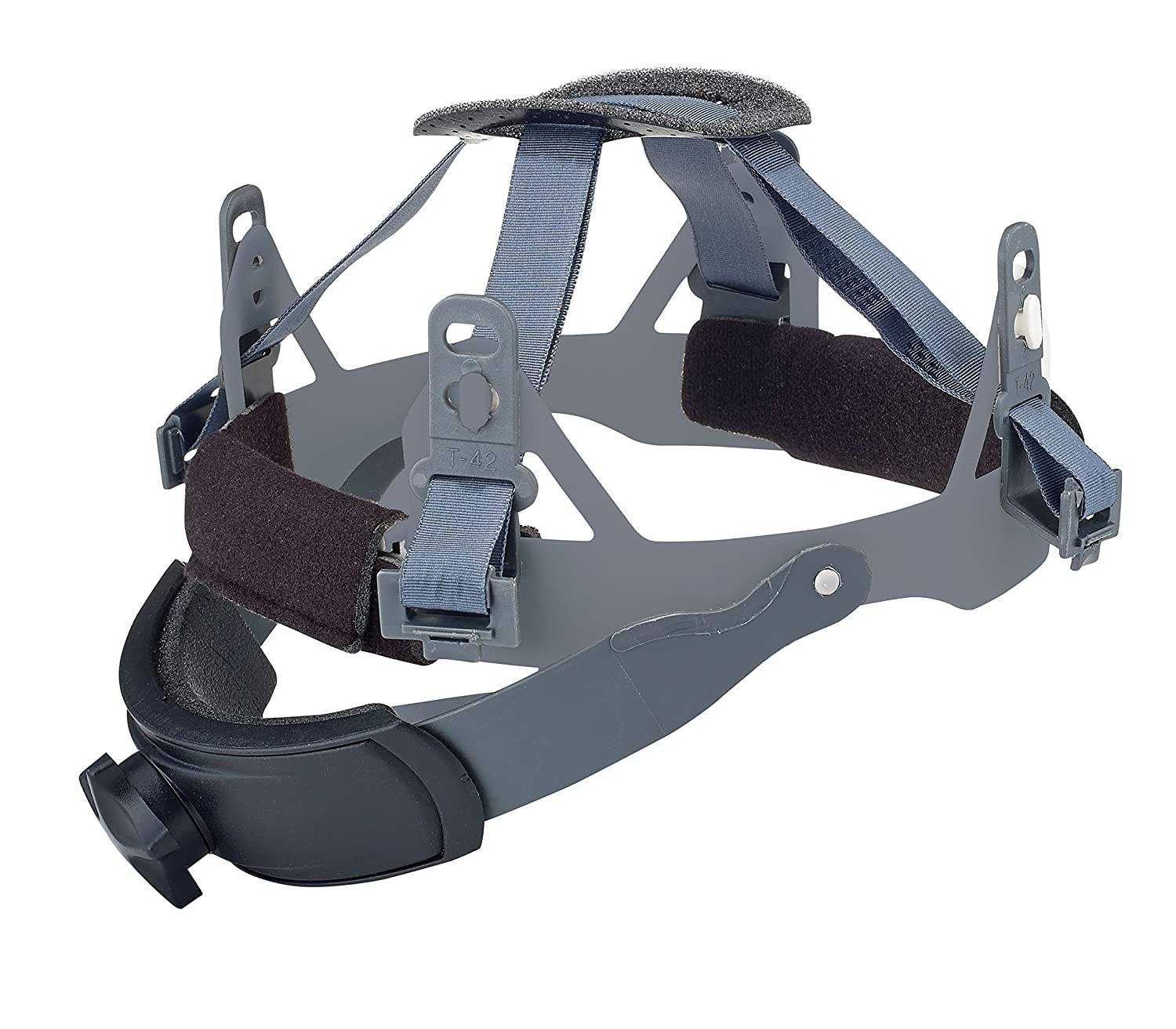 Black One Size Dynamic Safety HP842SRS 4-Point Replacement Nylon Sure-Lock//Swing Strap Ratchet Suspension