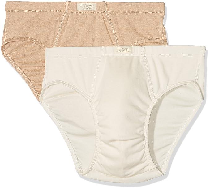 Organic Cotton Colours OCC-80-X2, Calzoncillos para Hombre, (Crudo-