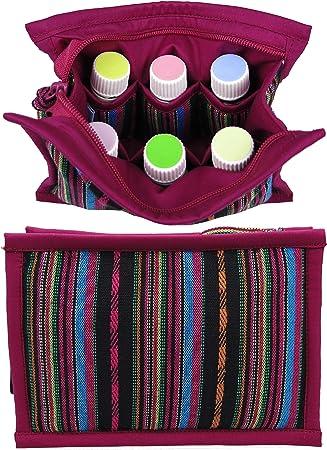 12 10 Travel Bag Essential Oil Bag Travel Case Carrier 8 or 14 oils