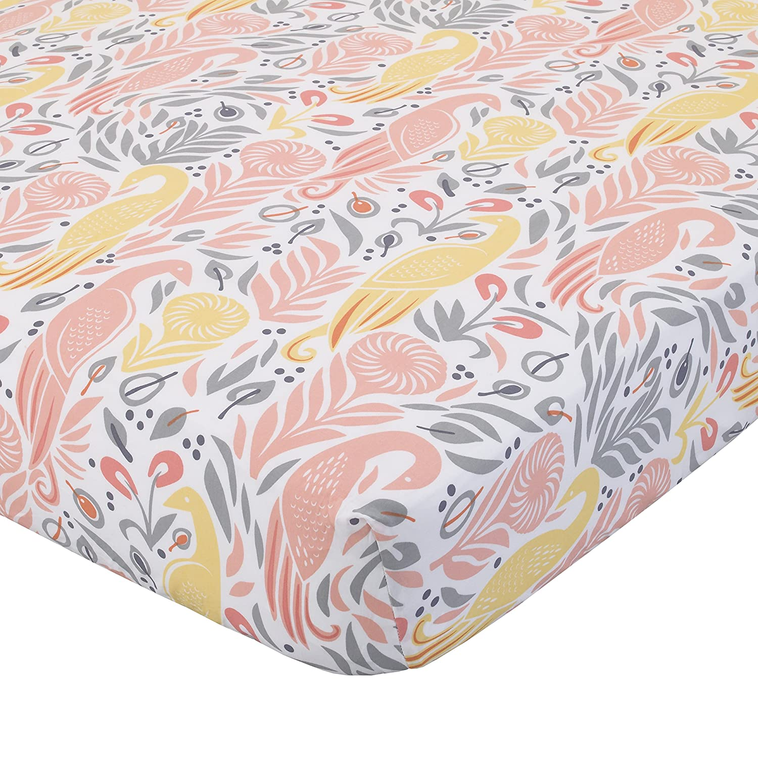 Dwell Studio Arden Butterfly Print Double Sided Cotton//Velour Baby  Blanket,Girl