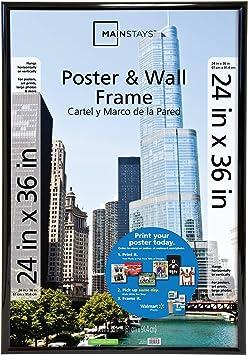 Amazon.com: Mainstays 24 x 36 Trendsetter Póster & diseño de ...