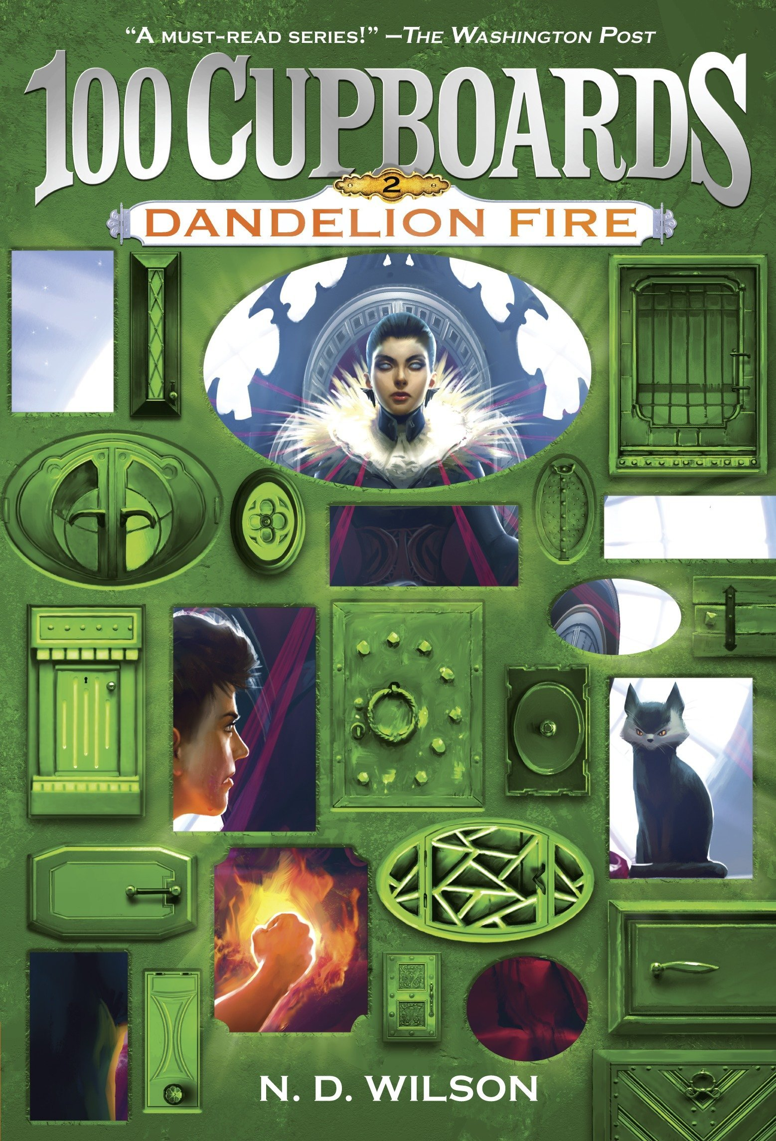 Dandelion Fire (100 Cupboards Book 2) (The 100 Cupboards, Band 2)