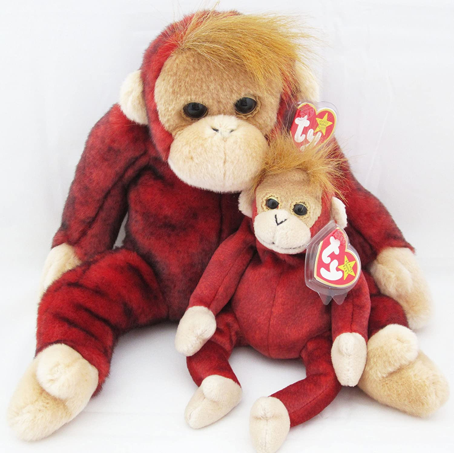 TEENIE BEANIE BABY SCHWEETHEART THE ORANGUTAN No Tags