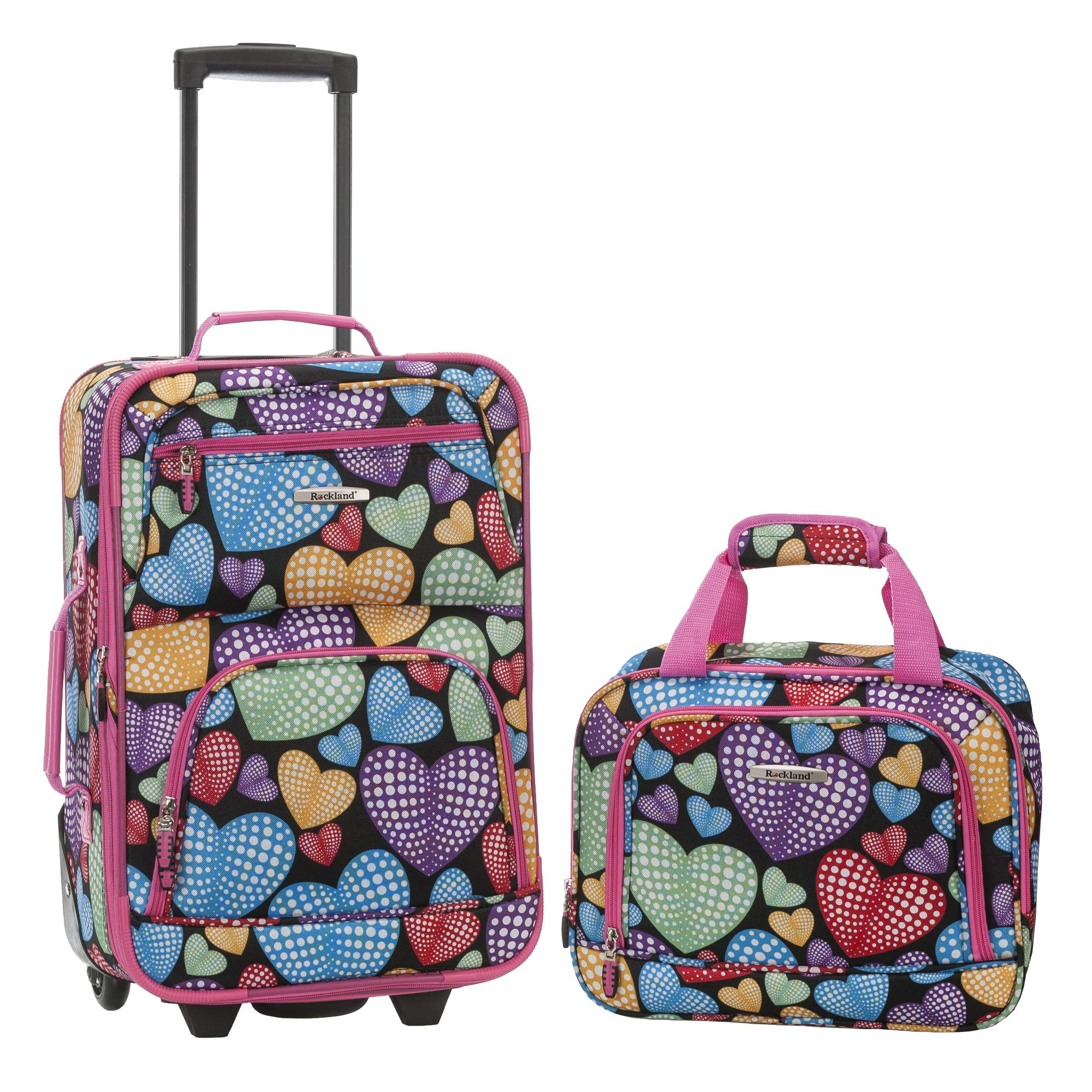 Rockland 2 Pc Luggage Set, Newheart by Rockland