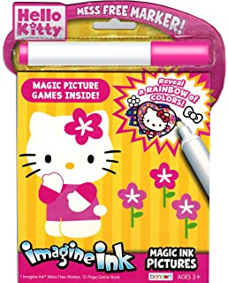 hello kitty imagine ink book - Imagine Ink Coloring Book
