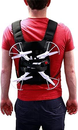DURAGADGET Mochila/Arnés Ajustable para tranporte de Dron dji ...