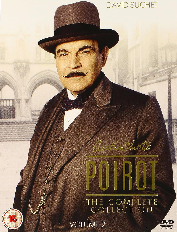 Agatha Christie's Poirot - The Complete Series 1-12 DVD: Amazon.co ...