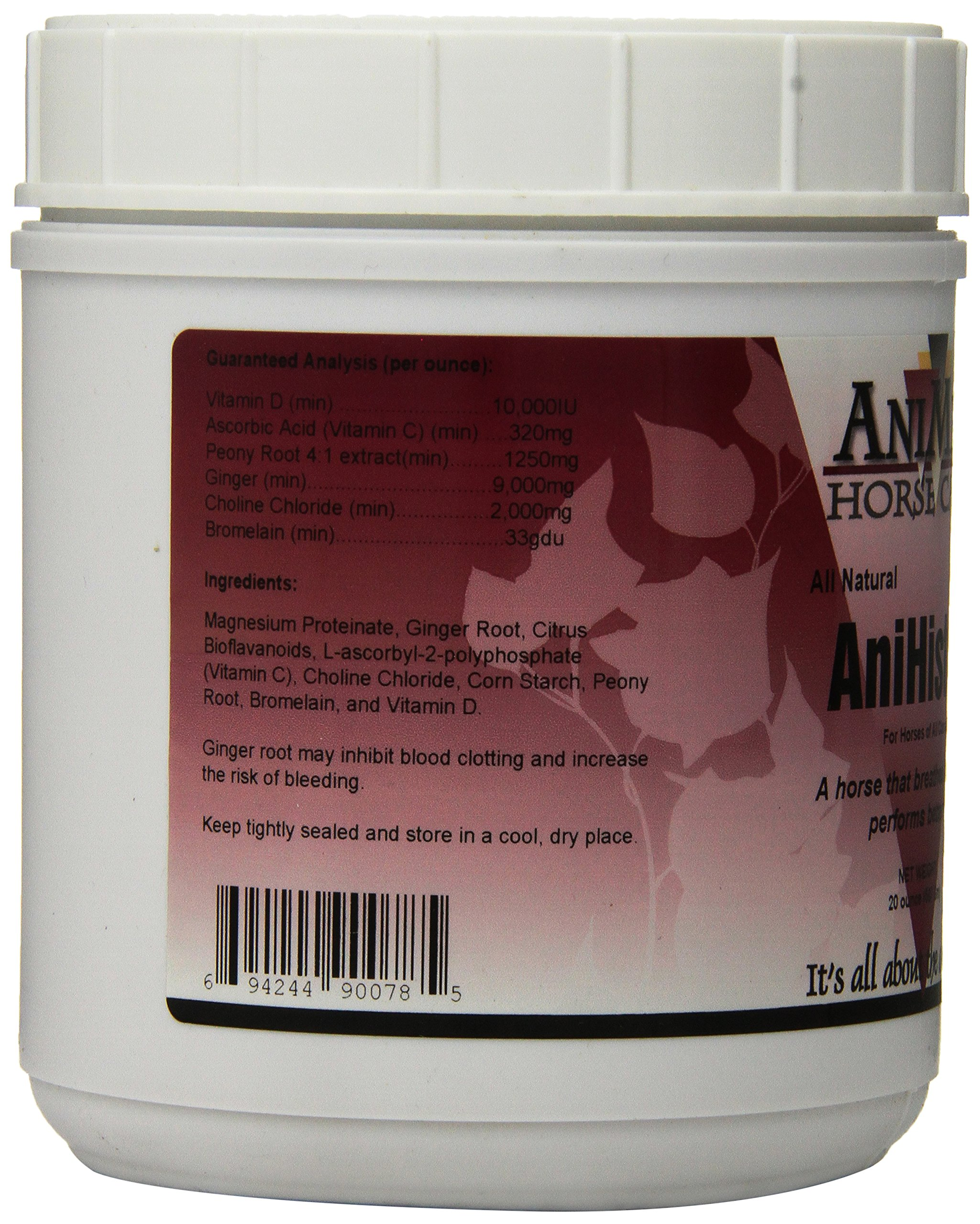 AniMed Anihist-H to Support Normal Histamine Levels in Horses, 20-Ounce by AniMed (Image #2)