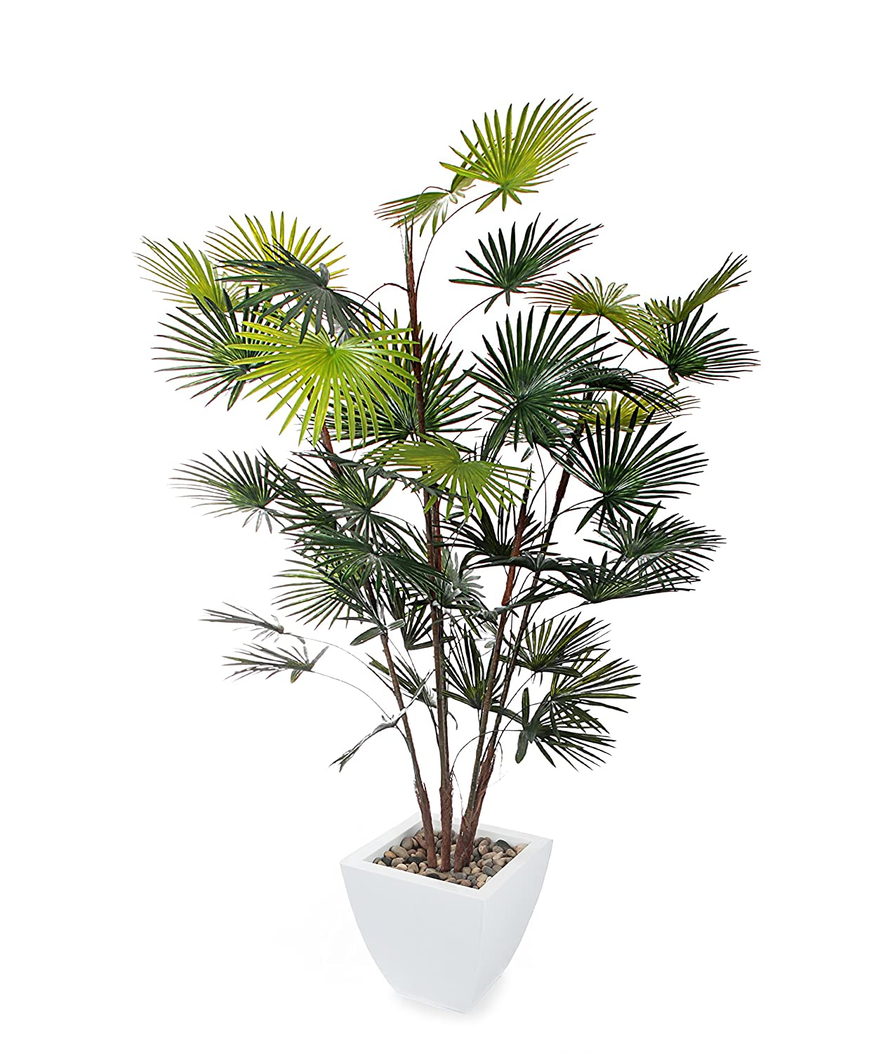 Closer2Nature Artificial 5ft Finger Palm Tree - Portofino Planter Not Included P003W