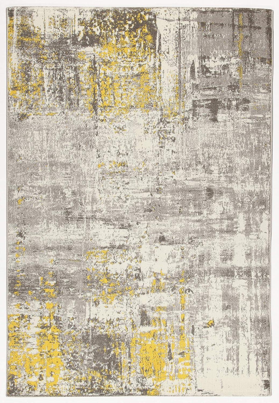 CarpetLiving.com Cucina |160x230 cm Soggiorno Tappeto Moderno Camera da Letto Tappeti di Design Tappeto Soho 2 Ecru//Yellow Tappeti Arredo