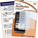 2 x mumbi Displayschutzfolie Motorola Defy Mini Schutzfolie AntiReflex antireflektierend