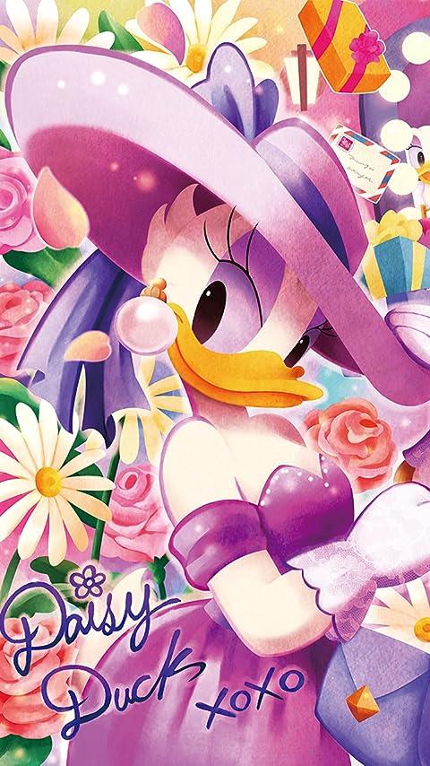 ディズニー デイジーのきらめく毎日 XFVGA(480×854)壁紙画像