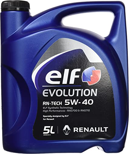Elf 201030 Aceite Evolution RN-Tech 5W40: Amazon.es: Coche y moto