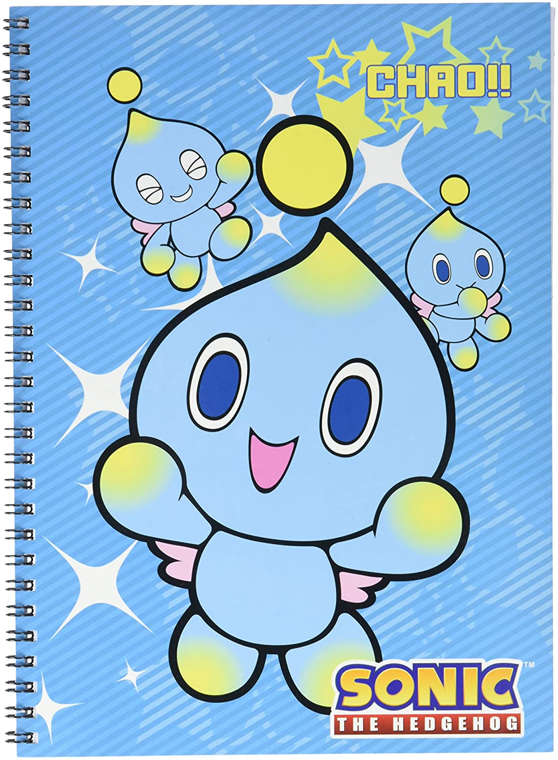 Sonic The Hedgehog Chao Spiral Notebook Great Eastern Entertainment Inc. 43034