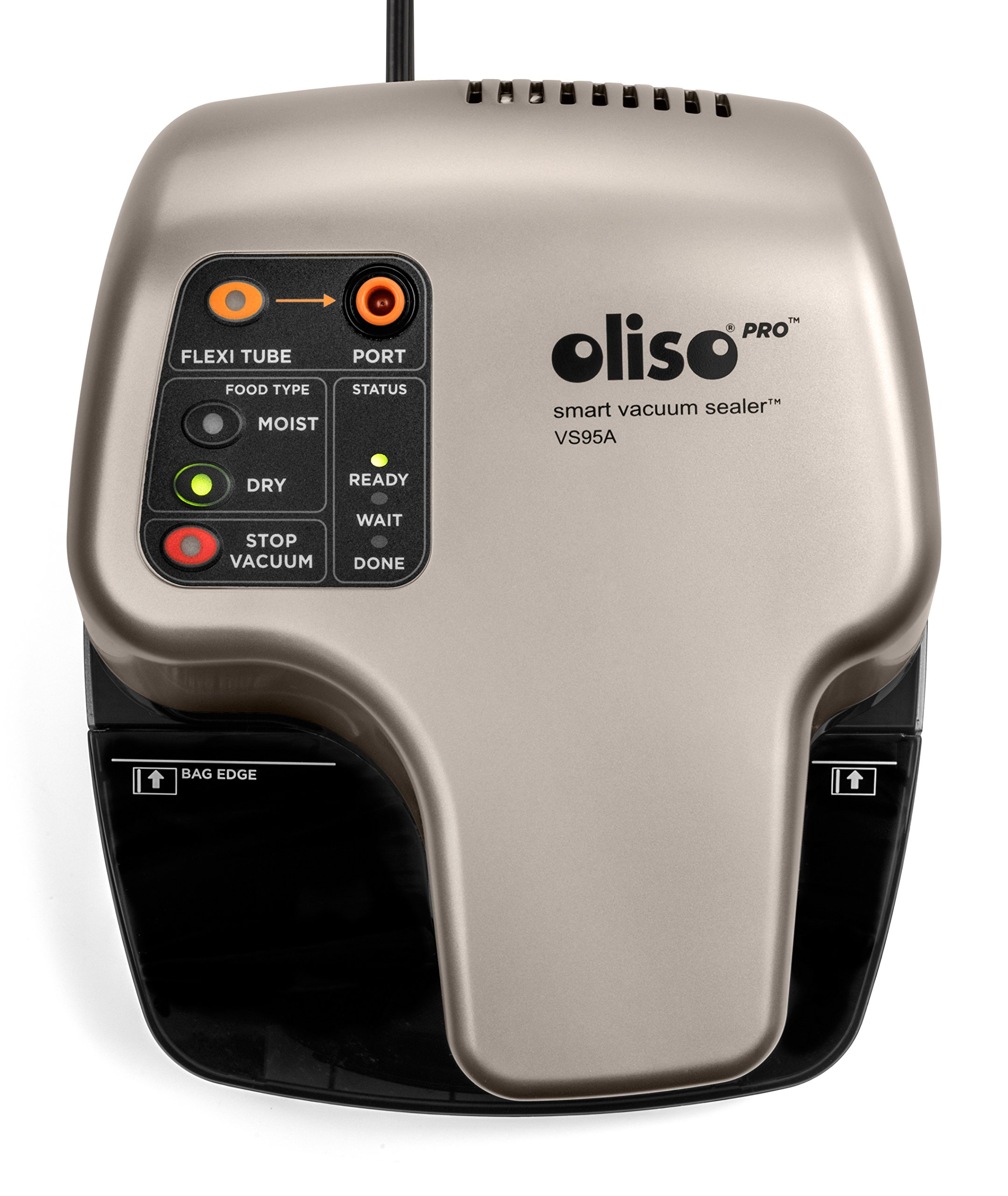Oliso Pro VS95A Smart Vacuum Sealer, Silver by Oliso (Image #1)