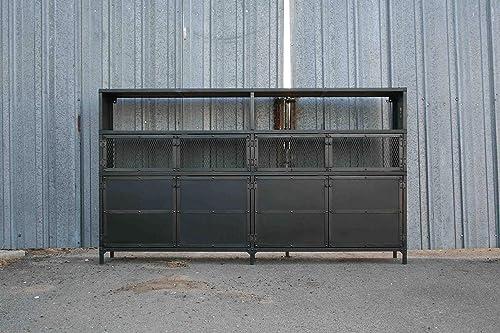 Amazon Com Vintage Metal Cabinet