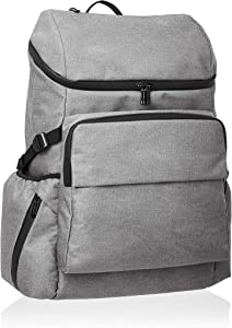 AmazonBasics Urban Backpack for Laptops up to 15-Inches - Grey