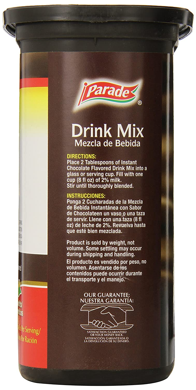 Amazon.com : Parade Instant Drink Mix, Chocolate, 30 Ounce : Grocery & Gourmet Food
