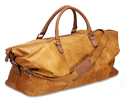 Packenger Pack Close Leather Weekender Floki in Different