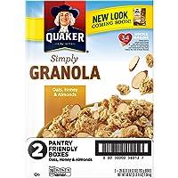 2-Pack Quaker Simply Granola Oats, Honey & Almonds 28oz Deals