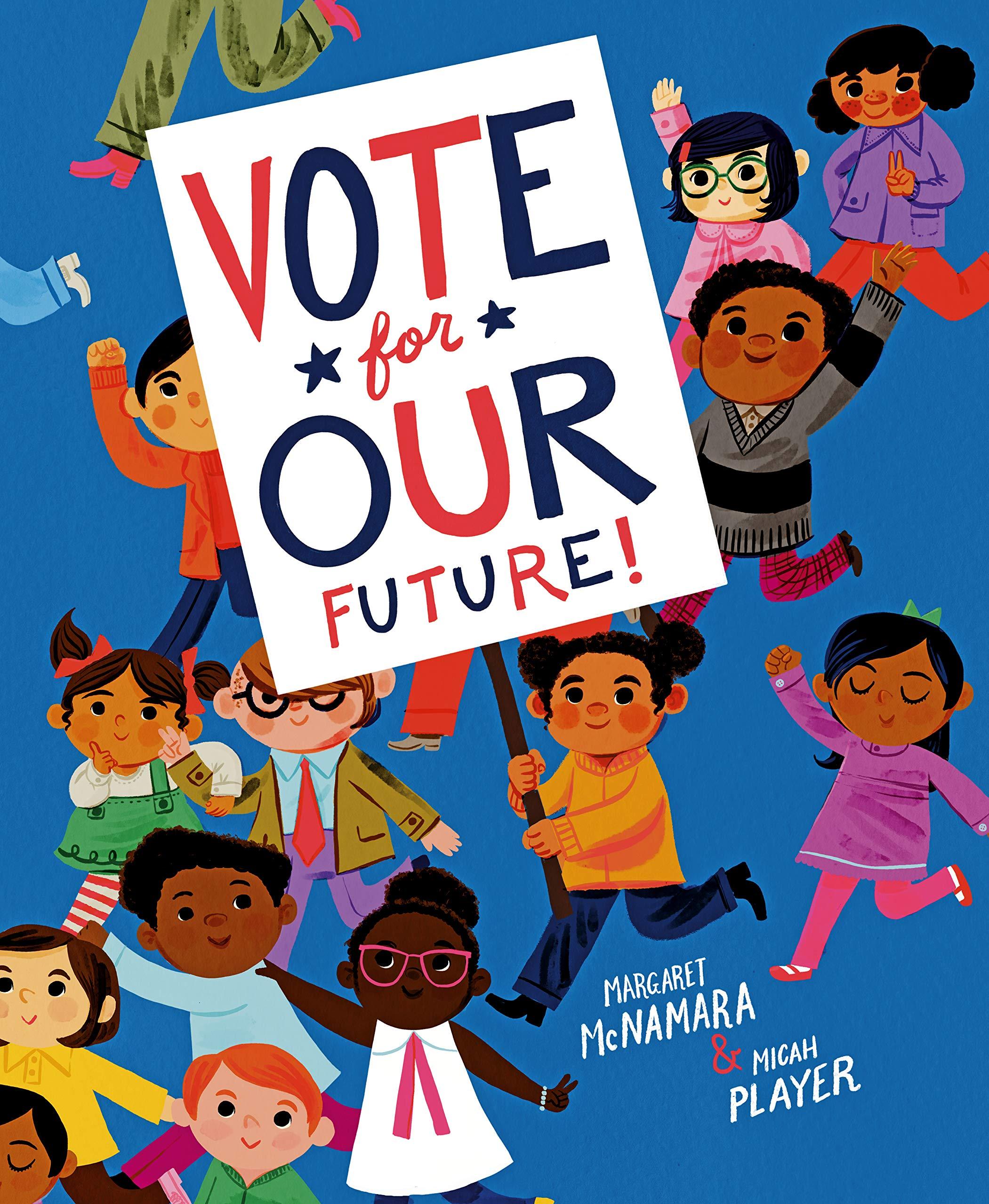 Image result for vote for our future mcnamara