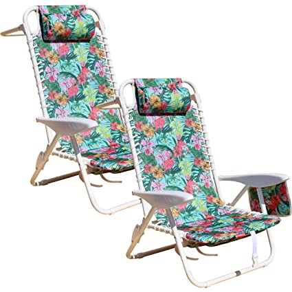Sensational South Bay Board Co Premium Beach Chair Luxurious Comfortable Suspension Seating Folding Outdoor Chairs With 3 Position Lay Flat Reclining Download Free Architecture Designs Scobabritishbridgeorg