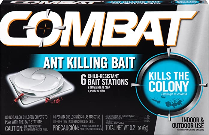 Combat Quick Kill Formula Bait Stations for Ants 2 Pack 6 Ct