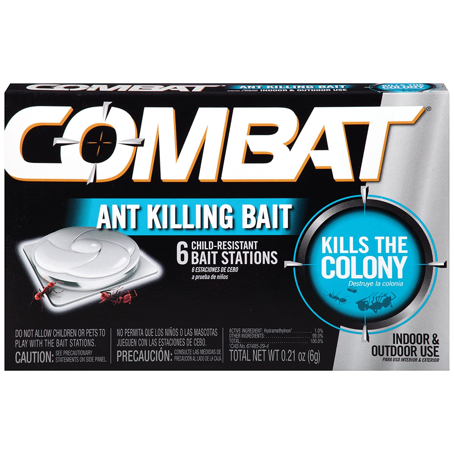 Amazon.com : Combat Ant Killing Bait, 6 Count : Home Pest Control ...