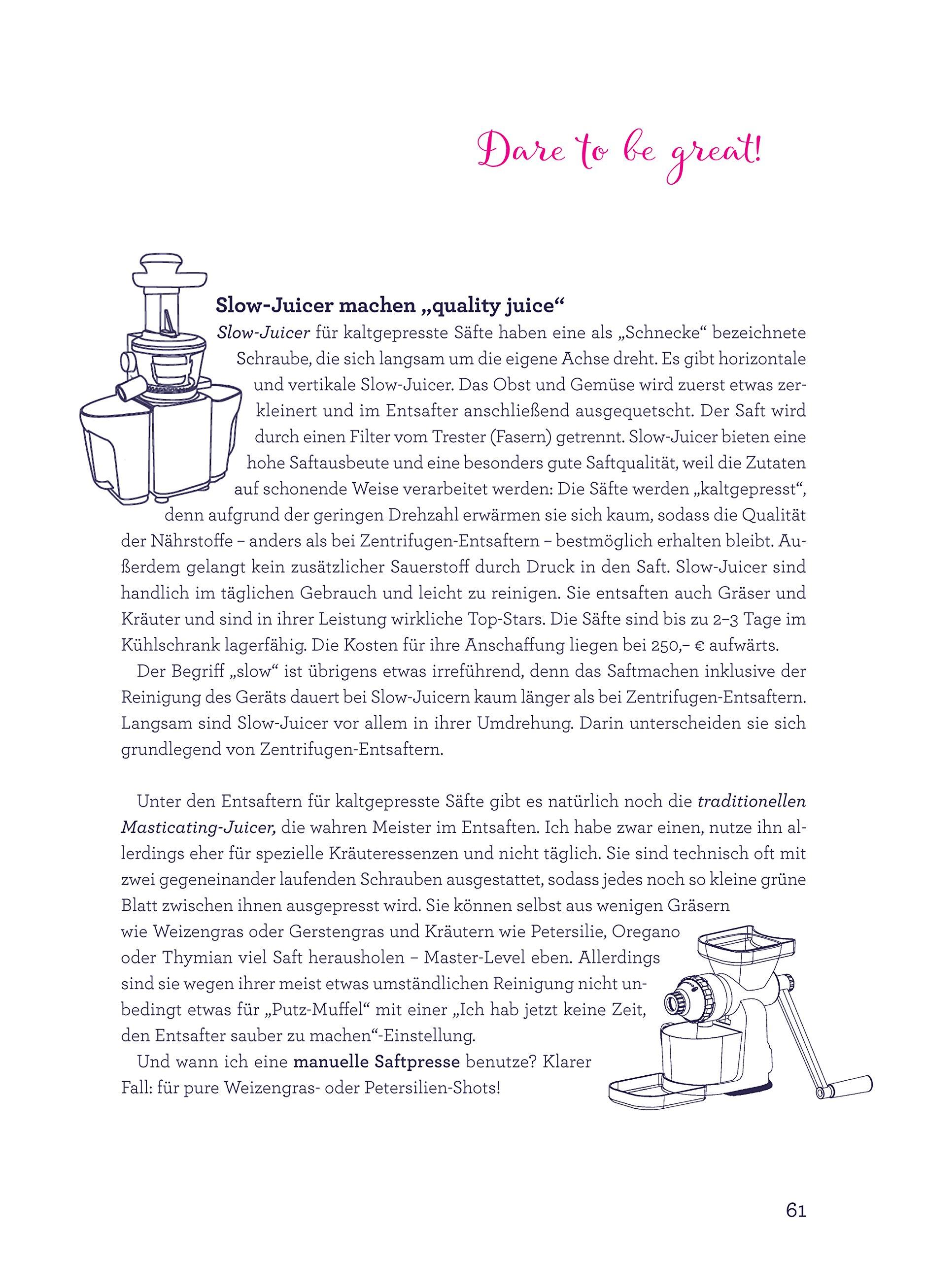 Lets Juice mit Sophie: Power für den Darm - Klarheit für den Geist: Amazon.es: Sophie von Gallwitz: Libros en idiomas extranjeros