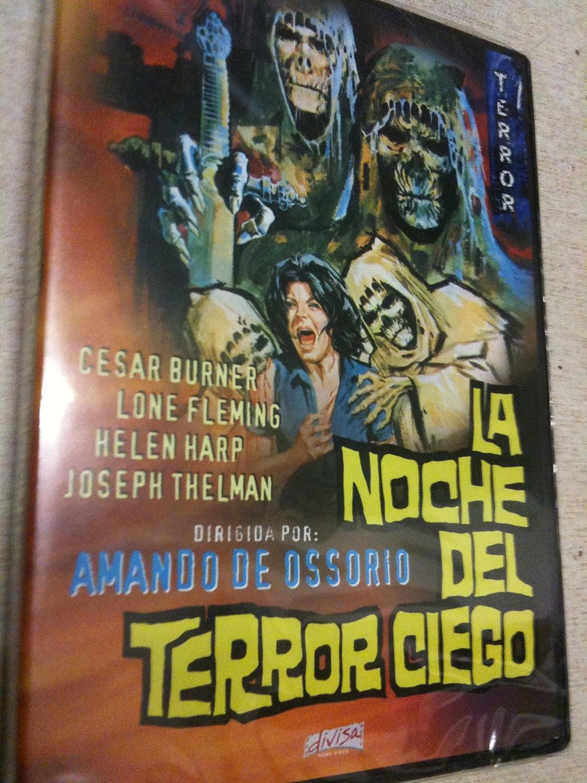 LA NOCHE DEL TERROR CIEGO DVD: Amazon.es: AMANDO DE OSSORIO: Cine y Series TV