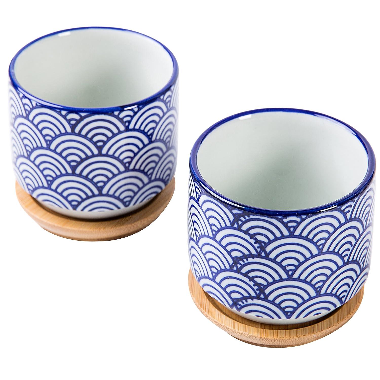 Macetas de cerámica de Estilo japonés