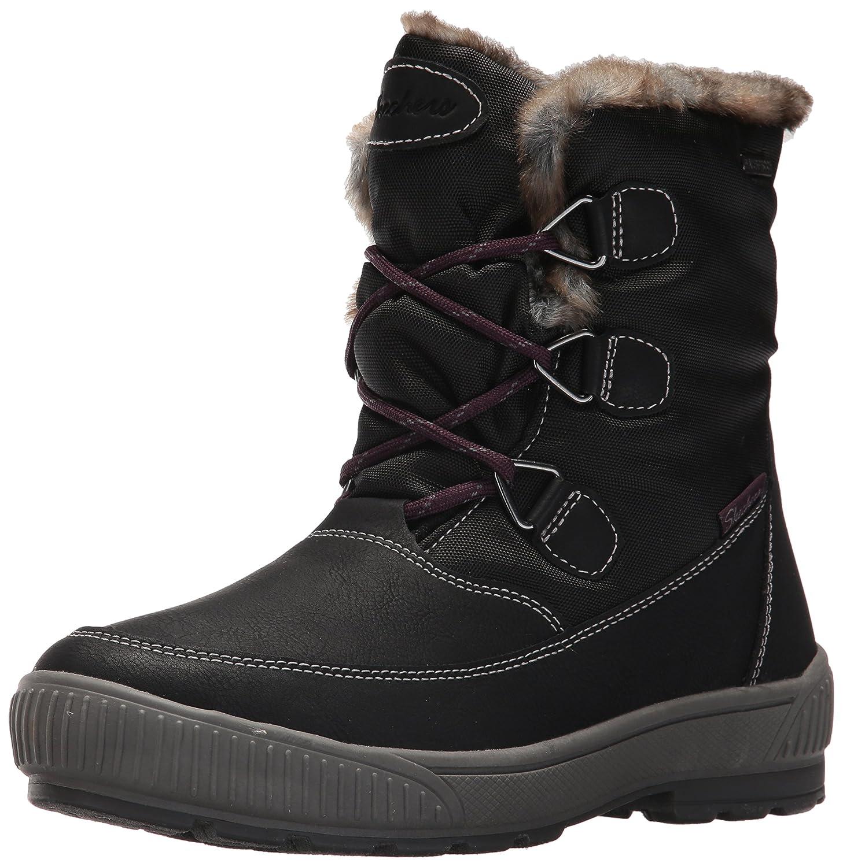 Skechers Damen Woodland Stiefel, Schokoladenbraun, M  40 EU|Schwarz (Blk)