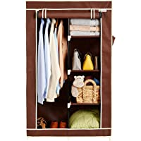 Amazon Brand - Solimo 2-Door Foldable Wardrobe