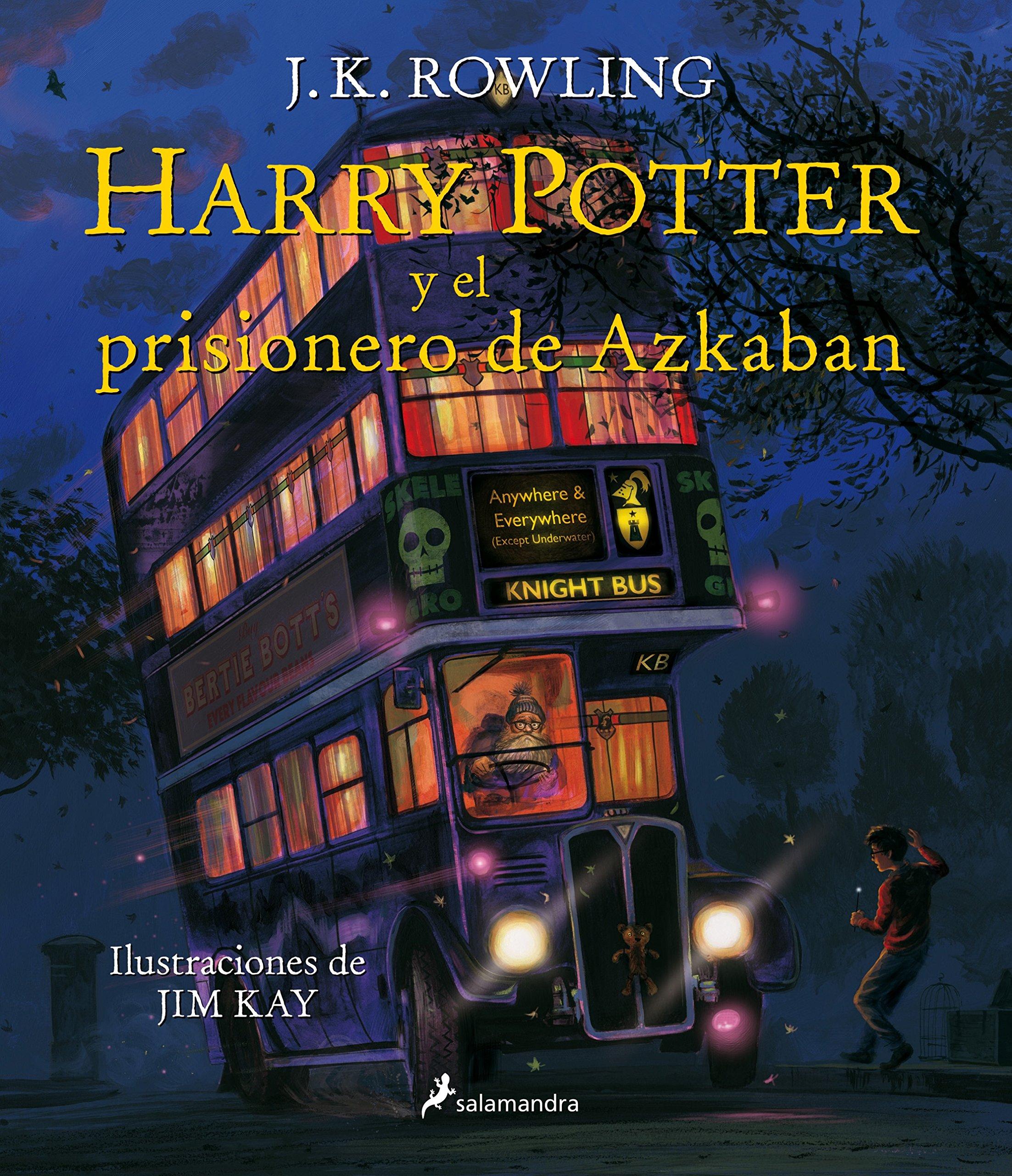 Read Online Harry Potter (03 Ilustrado) y el prisionero de Azkaban (Spanish Edition) PDF
