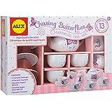 Alex Toys Chasing Butterflies Ceramic Tea Set, Multi Color