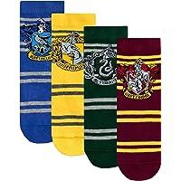 Harry Potter - Sokken Set van 4 - Zweinstein - Kinderen - Veelkleurig - Fabrieksmaat 12.5 - 3.5