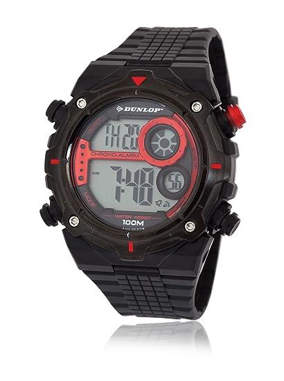 Dunlop DUN-228-G07 - Reloj Digital de Cuarzo para Hombre, Correa de