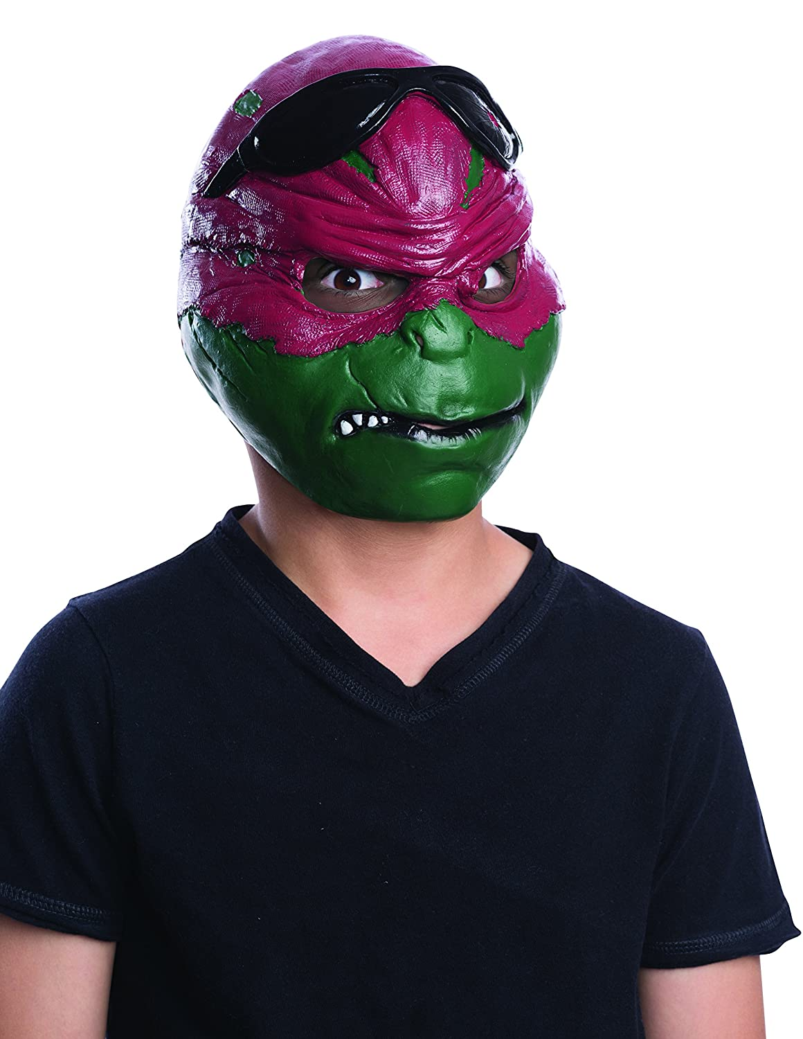 Rubies Costume Teenage Mutant Ninja Turtles Movie Raphael Child 3/4 Mask Rubies Toys CA 4324_NS