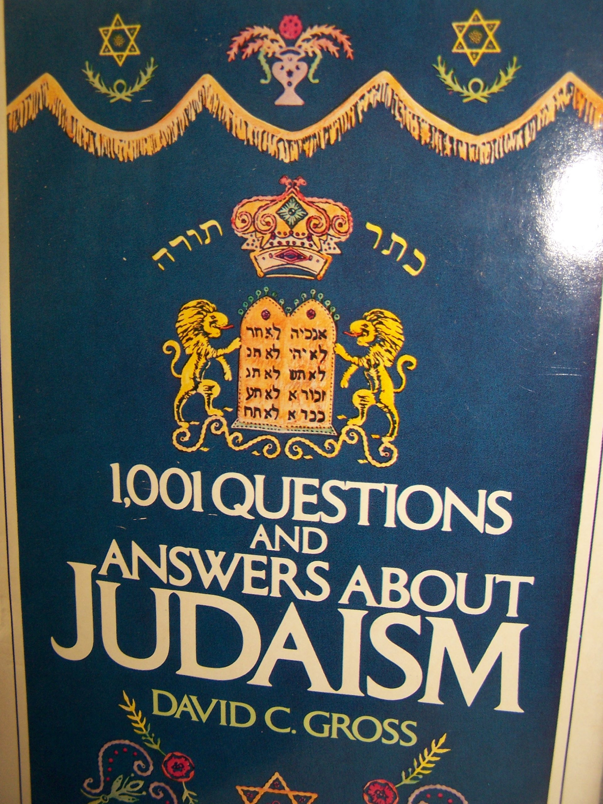 1001 Questions and Answers About Judaism: David C. Gross: 9780860515081:  Amazon.com: Books