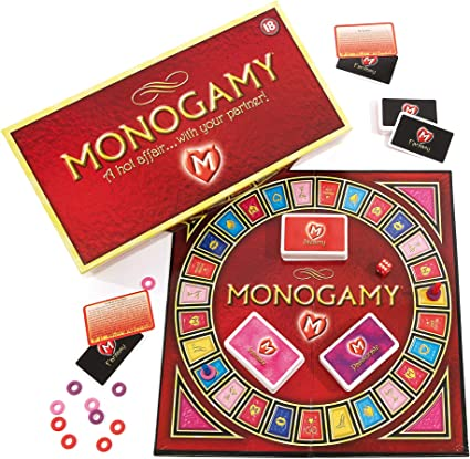 Monogamy Adult Board Game for A Hot Affair Fun Couple Romantic Gift UK VERSION
