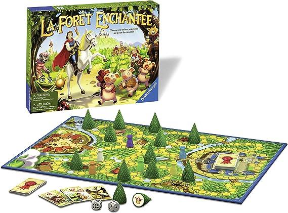 Ravensburger – 21236 – Juegos para niños – la Bosque Encantado: Amazon.es: Juguetes y juegos
