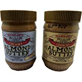 Trader Joe's Almond Butter Two Pack - Crunchy + Creamy Almond Butter Two Pack Salted - Salt