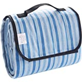 "Portable Outdoor Beach/ Camping/ Picnic Blanket Mat (60""x80"") - Foldable, Waterproof, Sand-proof by Exclusivo Mezcla"